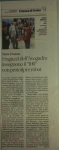 La Stampa parla del progetto New Avo